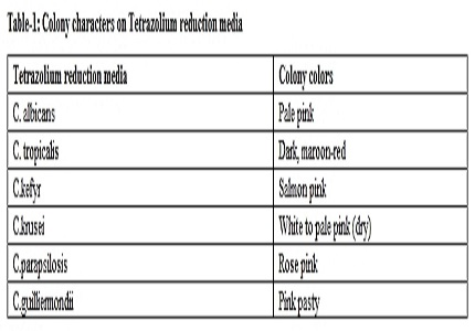 Isolation, Speciation and antifungal drug susceptibility of Candida species from clinically suspected infections in a tertiary care hospital